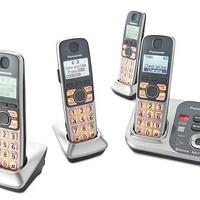 Panasonic 松下 KX-TG254SK 无绳电话套装 翻新版(DECT 6.0+、答录、支持蓝牙)