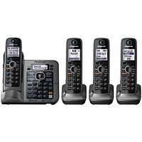 降10刀!Panasonic  松下 BLKX-TG7644M 无绳电话套装(DECT 6.0、一拖三)