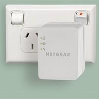 NETGEAR 美国网件 WN1000RP WiFi信号扩展器 + 大头针