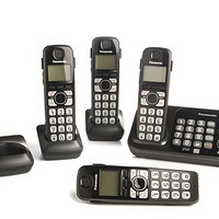 Panasonic 松下 KX-TG234SK 无绳电话套装(一拖四、DECT 6.0+)