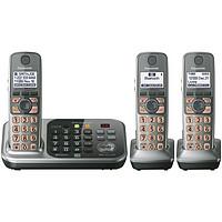 重回低价:Panasonic 松下 KX-TG7743S 无绳电话套装(DECT6.0+,蓝牙,答录,3子机)