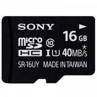 SONY 索尼 16G TF(MicroSD)存储卡(UHS-1,Class10,40MB/S)