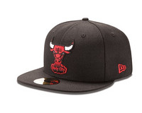 NBA Unisex Child Chicago Bulls  59Fifty 儿童棒球帽