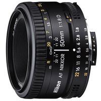 Nikon 尼康 AF NIKKOR 50mm f/1.8D 标准定焦镜头