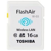 移动端:TOSHIBA 东芝 16GB FlashAir Wi-Fi传输 SDHC存储卡