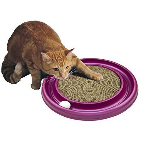 bergan Star Chaser Turbo Scratcher 逗猫玩具