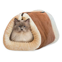 Kitty Shack Cat Tube Mat and Bed 猫咪两用毯床