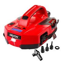 历史新低:DEVON 大有 9014-Li-12 12V 锂电池 充电式充气泵+凑单品