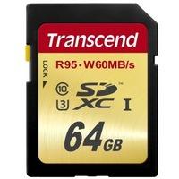 Transcend 创见 SDXC存储卡(64GB、UHS-I)
