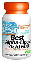 Doctor's Best Best Alpha Lipoic Acid α硫辛酸 600mg 180粒