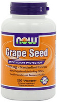 NOW 诺奥 Foods Grape Seed 葡萄籽精华 100mg*200粒