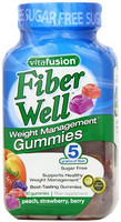 vitafusion Fiber Well Weight Management 纤体软糖 90粒装