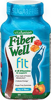 vitafusion Fiber Well Fit Gummies 成人纤体软糖 90粒