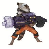 MARVEL 漫威 Guardians of The Galaxy 银河护卫队 Big Blastin' Rocket Raccoon 火箭浣熊玩偶
