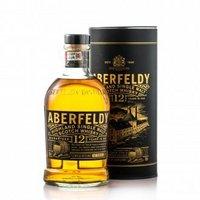 有券的上、京东PLUS会员:Aberfeldy 艾柏迪 12年 单一麦芽苏格兰威士忌 700ml *3件