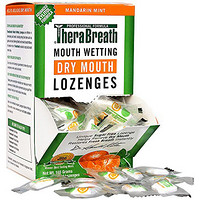 TheraBreath Dentist Recommended Dry Mouth Lozenges 无糖薄荷味 防口干糖