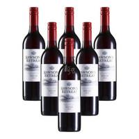 Penfolds 奔富 Rawson's Retreat 洛神山庄 梅洛干红葡萄酒 (750ml*6瓶)