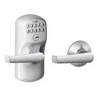 SCHLAGE 西勒奇 FE575系列 Plymouth Keypad Elan Levers 电子密码门锁