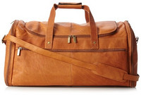 DAVID KING & CO Extra Large Multi Pocket Duffel 真皮超大旅行包