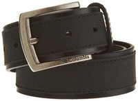 Columbia 哥伦比亚 Leather Belt With Overlay  男士皮带