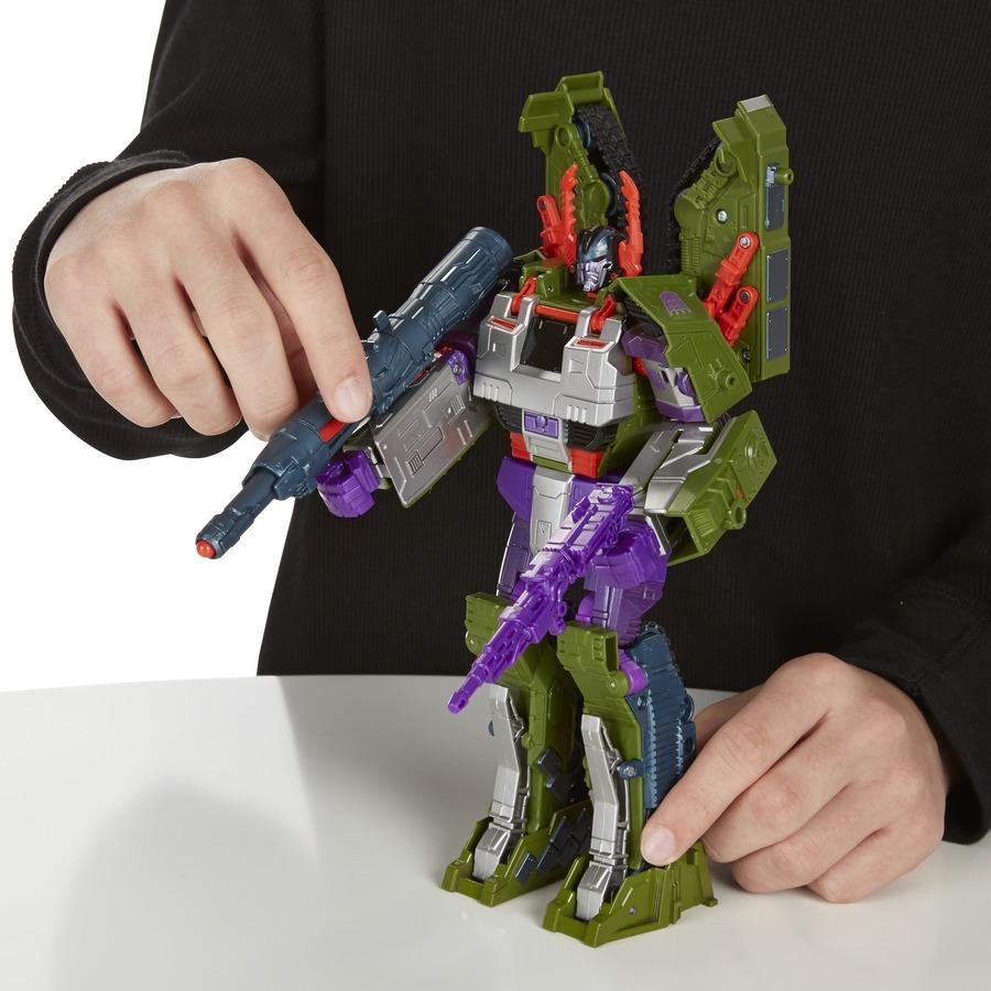 Hasbro 孩之宝 变形金刚 经典重涂 领袖级 坦克威震天