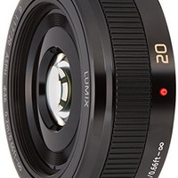 Panasonic 松下 LUMIX G 20mm F1.7 II ASPH. 无反定焦镜头