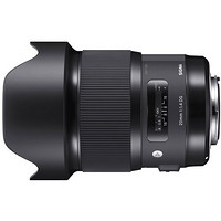 SIGMA 适马 Art 20mm F1.4 DG HSM 定焦镜头 索尼E口