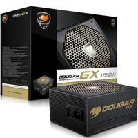COUGAR 骨伽 GX1050 1050W 电源(金牌、半模组、双管正激)