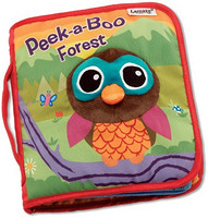 Lamaze Peek-A-Boo Forest Soft Book 儿童柔软故事书