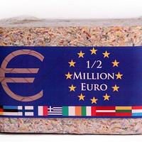 奇葩物:500000欧元 粉碎封装砖
