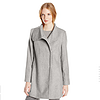 Larry Levine Women's Wool Herringbone Coat 羊毛大衣
