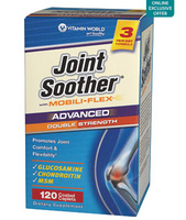 VITAMIN WORLD Advanced Double Strength Joint Soother 维骨力 120粒装*5瓶