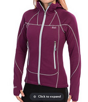 Rab Shadow Polartec Wind Pro 女款防风抓绒衣