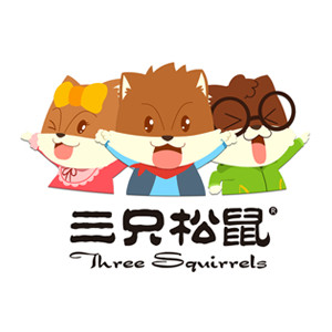 Three Squirrels 三只松鼠 魔方吐司 红豆味 6枚480g