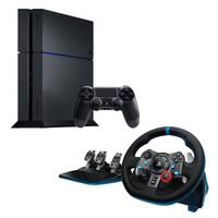 Logitech 罗技 G29 游戏方向盘+SONY 索尼 PlayStation 4