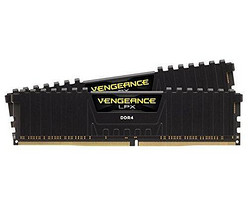 CORSAIR 美商海盗船 Vengeance LPX 16GB DDR4 3000MHz 台式机内存(8G*2条)