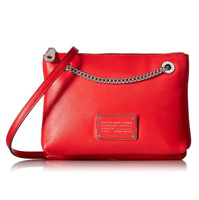 新低价:MARC BY MARC JACOBS New Too Hot To Handle Doubledecker Xbody 女款斜挎包