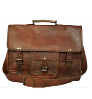 RusticTown Genuine Leather Laptop Bag 真皮公文包
