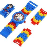 LEGO 乐高 超级英雄系列 9005619 超人 儿童手表套装