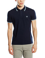 Fred Perry LIGHT AND STRETCH CUSTOM FIT 男士短袖POLO衫