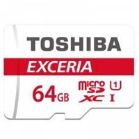 TOSHIBA 东芝 EXCERIA 极至瞬速 64GB TF存储卡