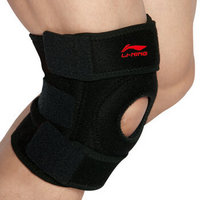 LI-NING 李宁 222双弹簧可调节支撑型长款 运动护膝