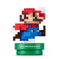 凑单品:Nintendo 任天堂 Amiibo 像素 超级玛丽 30周年特典 手办模型