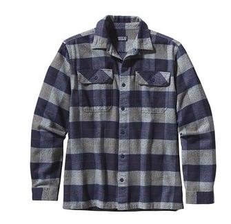 patagonia 男式 纯棉休闲衬衫  Fjord Flannel 53947