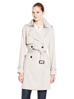 VERA WANG 王薇薇 Valencia Double Breasted Trench 女式风衣
