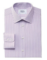CHARLES TYRWHITT Classic Fit Egyptian Cotton 男士条纹衬衫