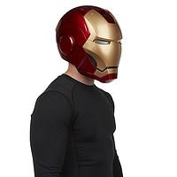 历史新低:Marvel Legends 漫威 复仇者联盟 1:1 钢铁侠头盔