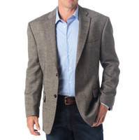 Wool Blend Donegal Sport Coat