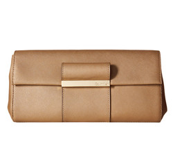 Calvin Klein Evening Saffiano Leather Clutch 女士手拿包