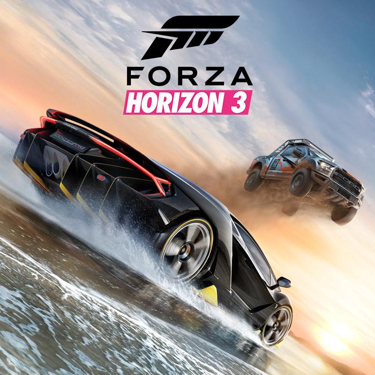 《Forza Horizon 3(极限竞速:地平线3)》数字版赛车游戏
